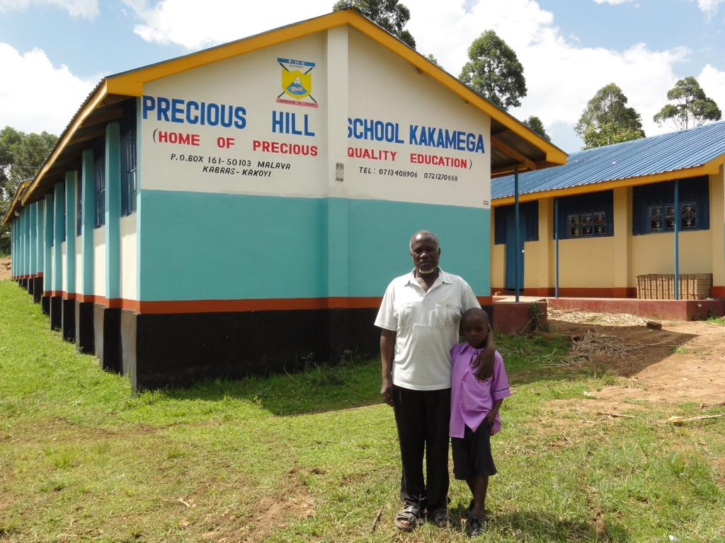 Precious Hill School Kakamega With Head Teacher
