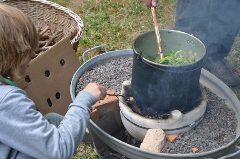 Environmental Education - Cooking On A Upesi Stove
