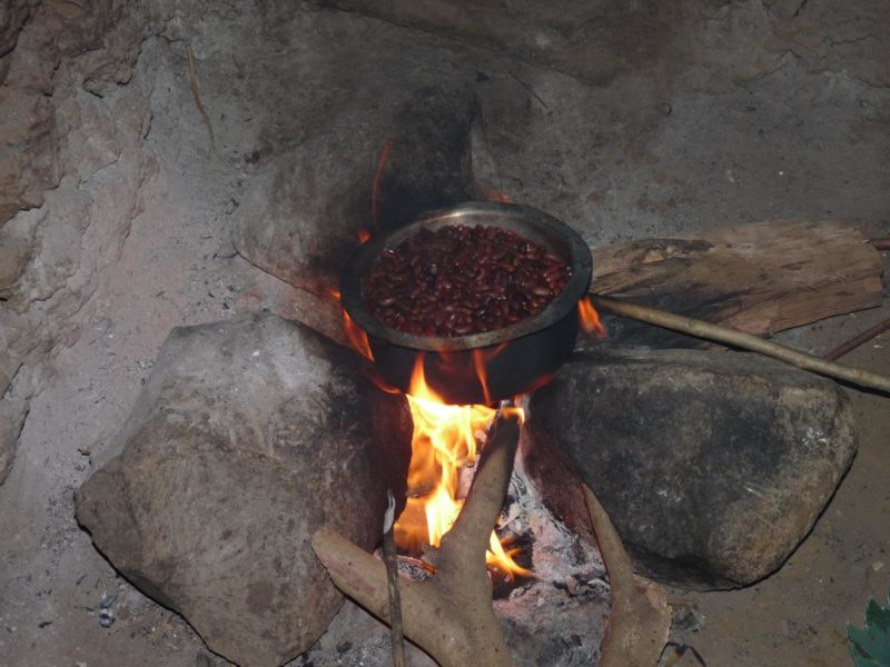 "Old Cooking ""stove"" - 3 Stones With Open Fire"