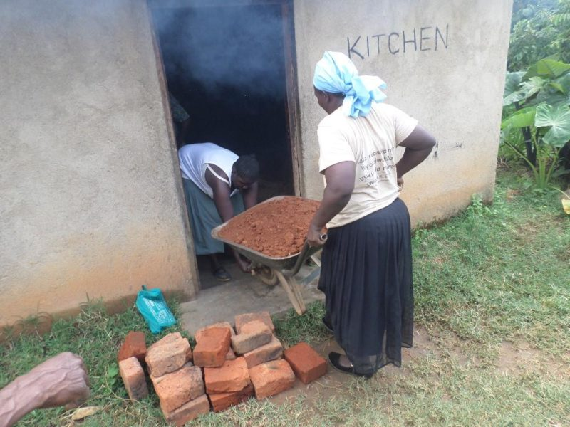 Building The New School Kitchen Stove
