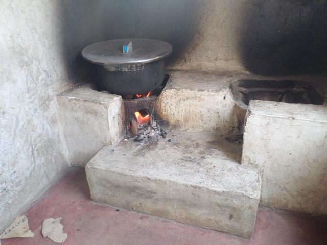 New Mega Double Upesi Stove In The School Kitchen