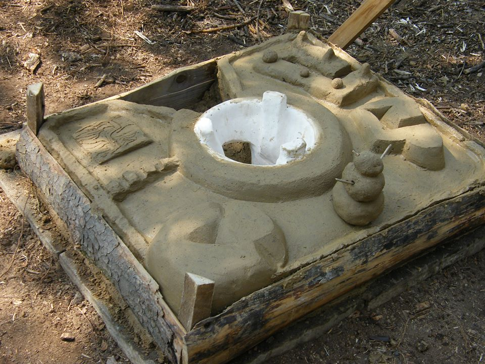 The Finished Upesi Stove